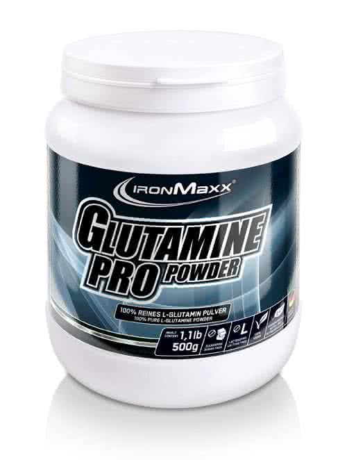 IronMaxx Glutamin Pro 500 gr.