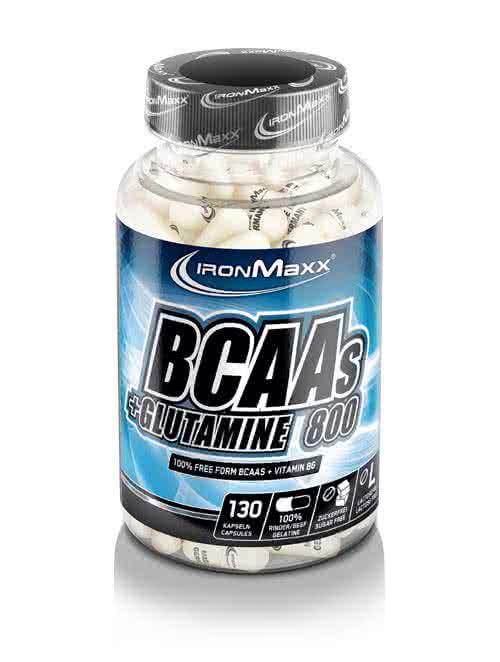 IronMaxx BCAA + Glutamin 800 130 caps.