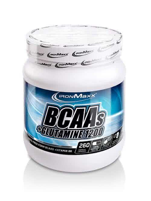 IronMaxx BCAA + Glutamin 1200 260 caps.