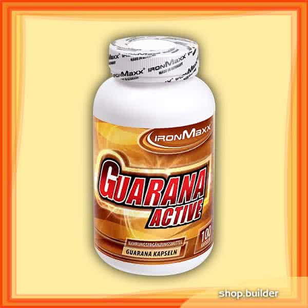 IronMaxx Guarana Active 100 caps.
