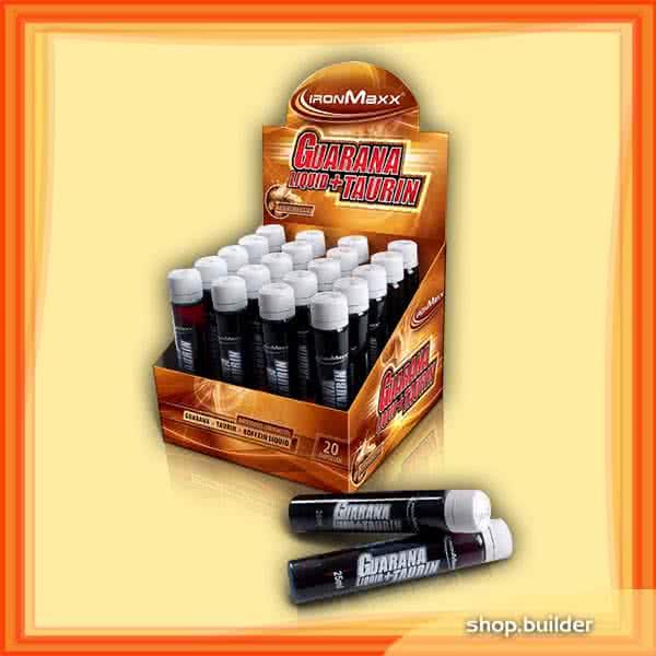 IronMaxx Guarana+Taurin Liquid 20x25ml
