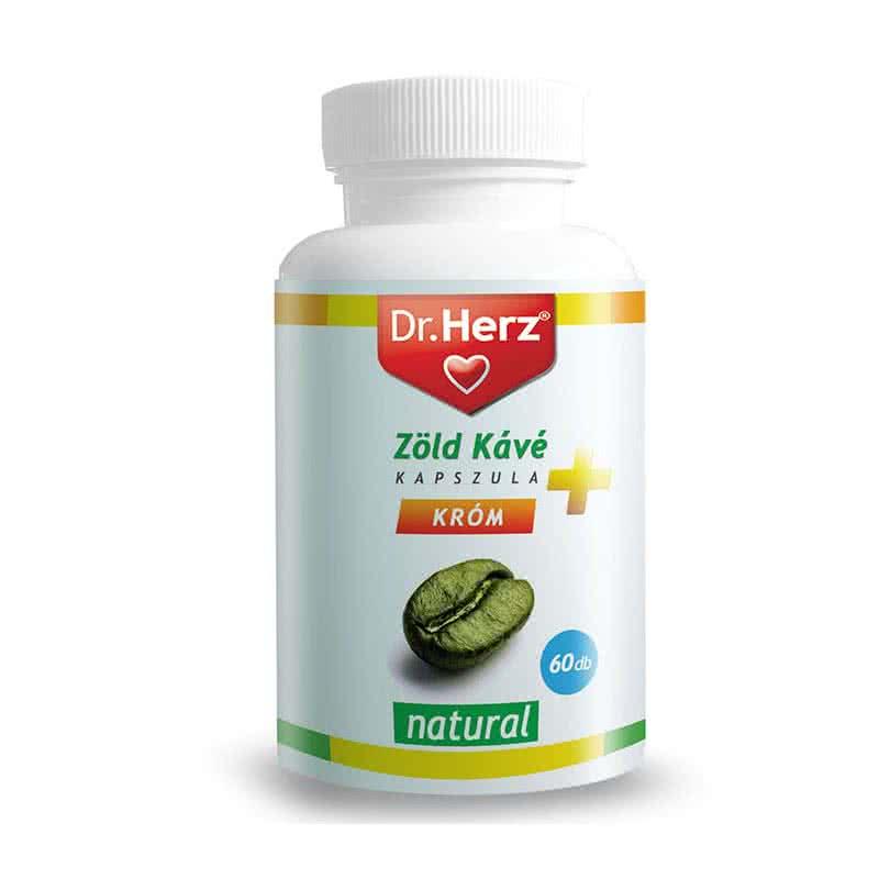Dr. Herz Green Coffee Caps 60 caps.