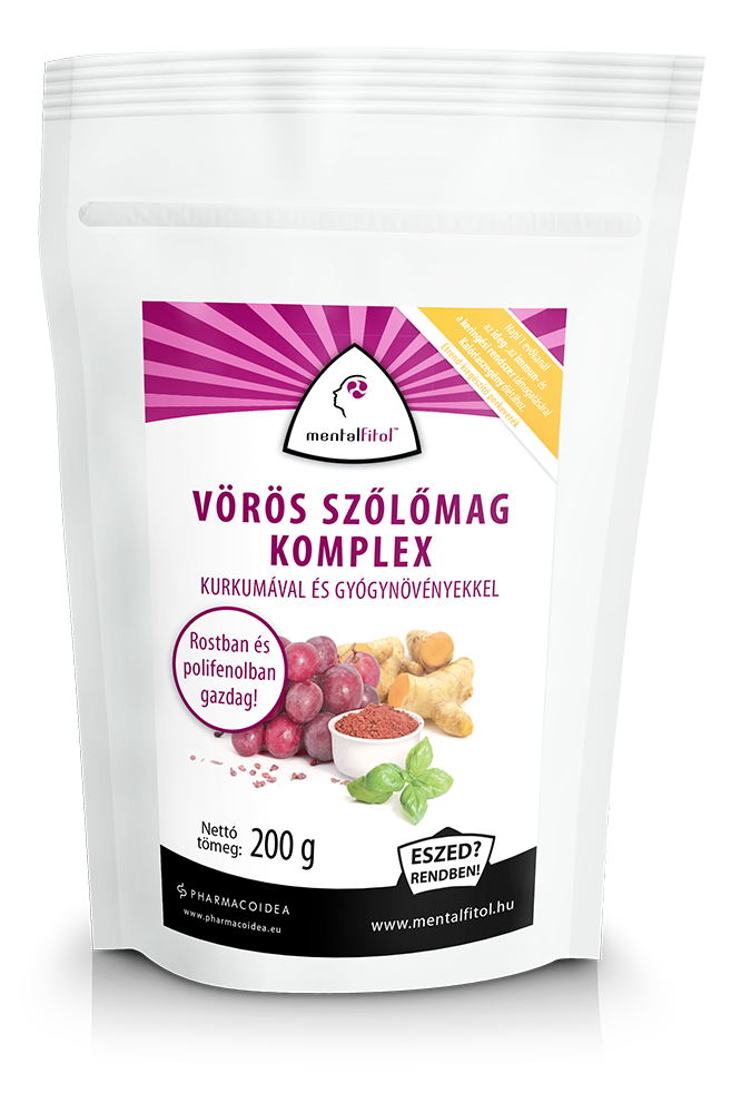 PharmacoIdea Red grape seed complex 200 gr.