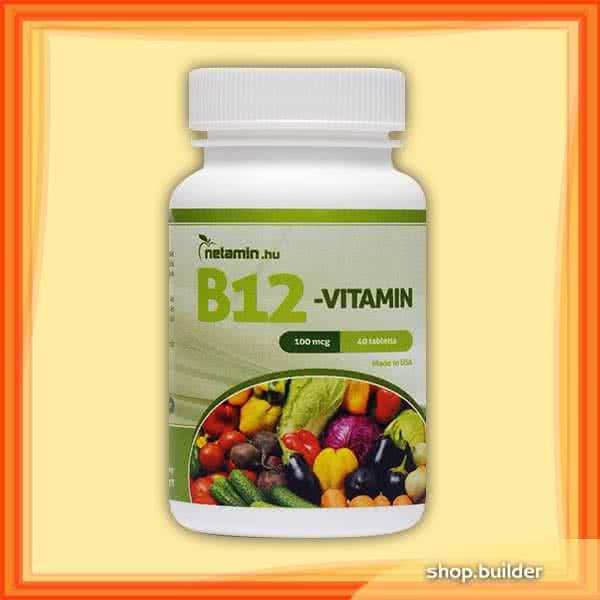 Netamin Vitamin B12 40 caps.