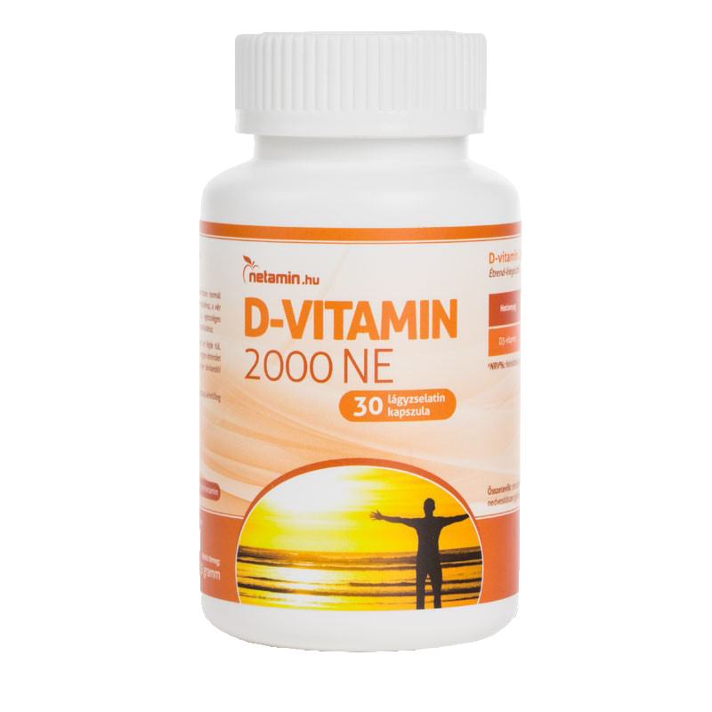 Netamin D-vitamin 2000 IU 30 caps.