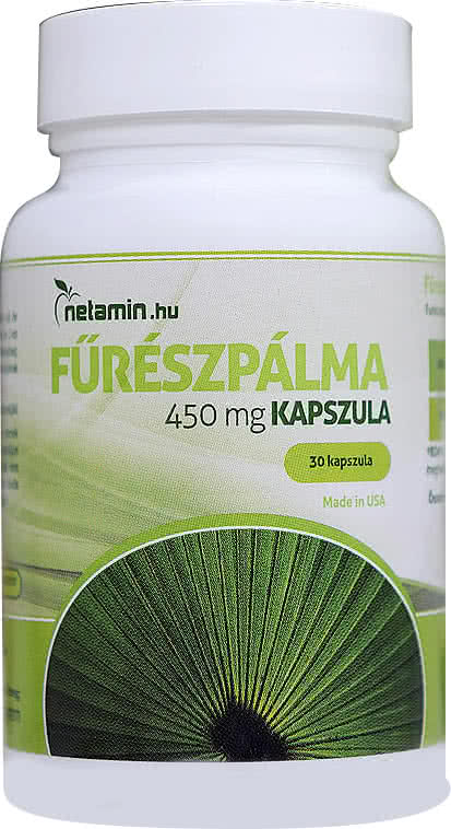 Netamin Saw Palmetto 450mg 30 caps.