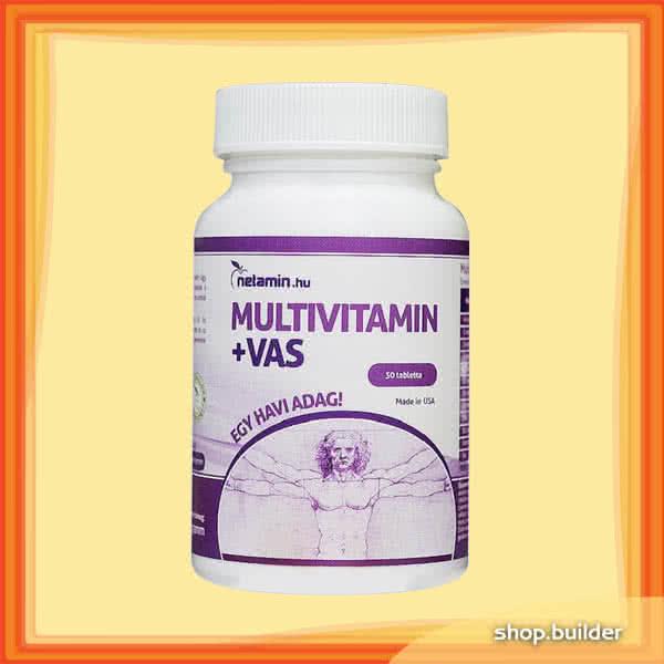 Netamin Multivitamin+Iron 30 caps.