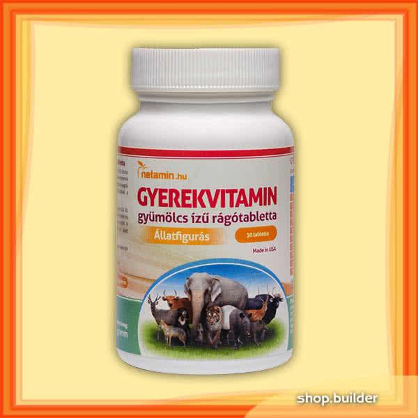 Netamin Childrens vitamins 30 caps.