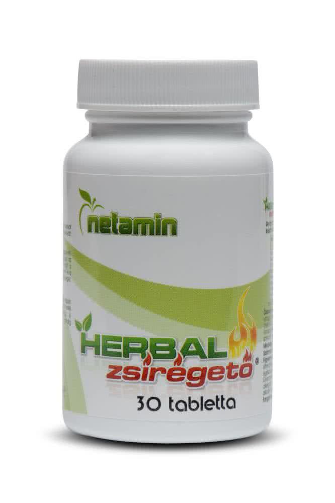 Netamin Herbal Fat Burner 30 caps.