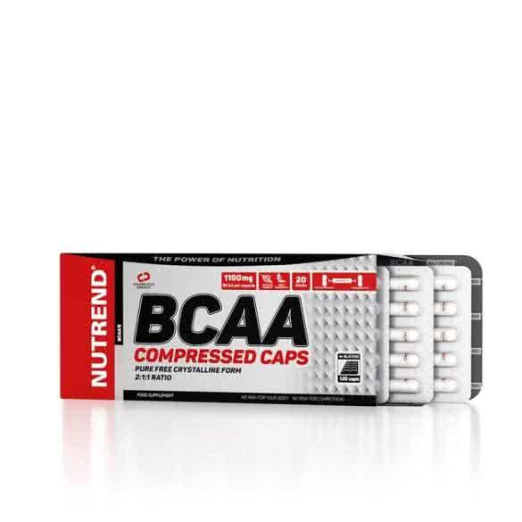 Nutrend BCAA Compressed 120 caps.