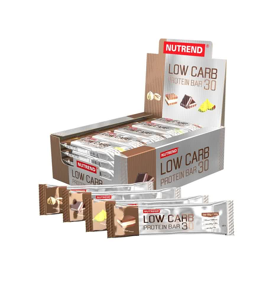 Nutrend Low Carb 30 Protein Bar 80 gr.