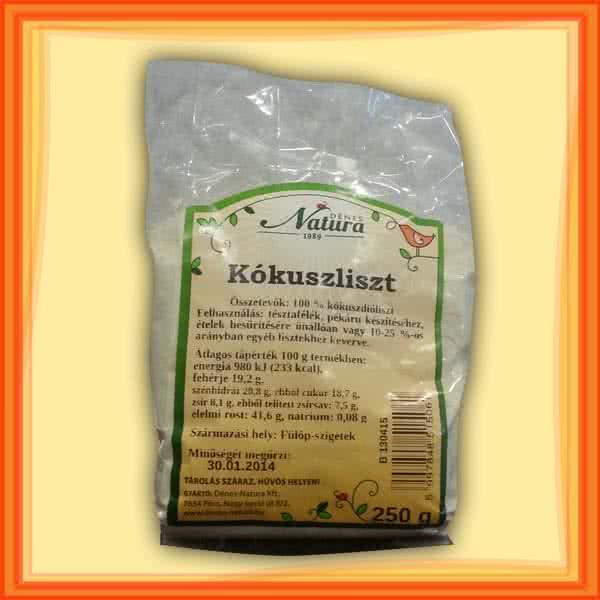 Natura Coconut flour 250 gr.