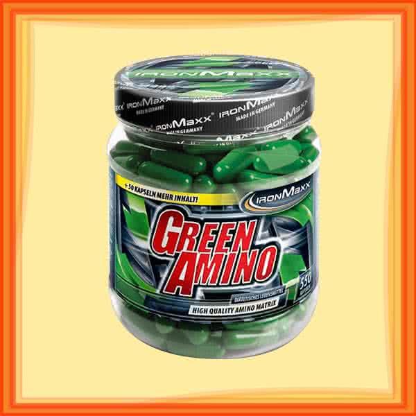 IronMaxx Green Amino  550 caps.