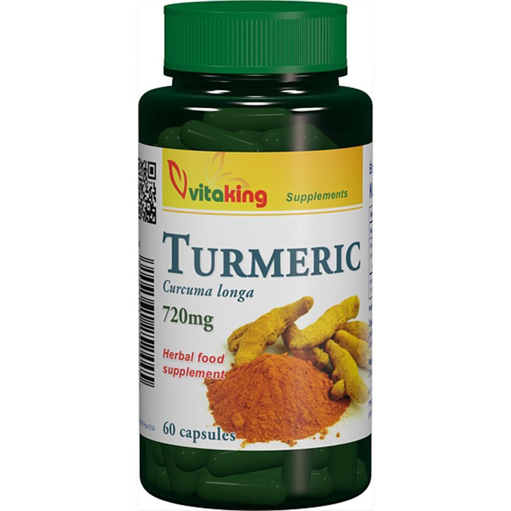 VitaKing Turmeric (Curcuma longa) 60 caps.