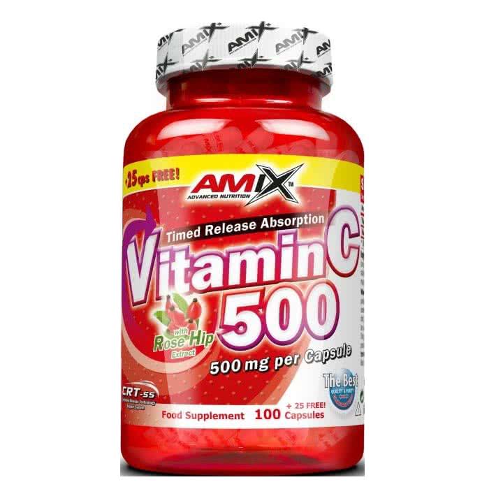 Amix Vitamin C-500 100 caps.