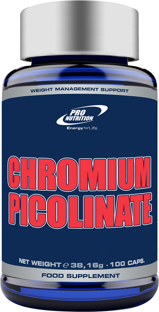 Pro Nutrition Chromium Picolinate 100 caps.