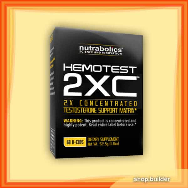 Nutrabolics Hemotest 2XC 60 caps.