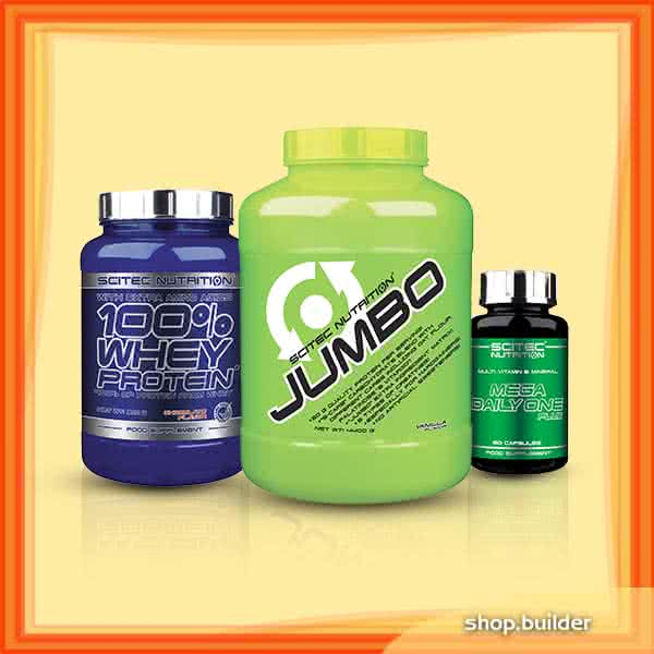 Scitec Nutrition Scitec Muscle Building Basic Stack