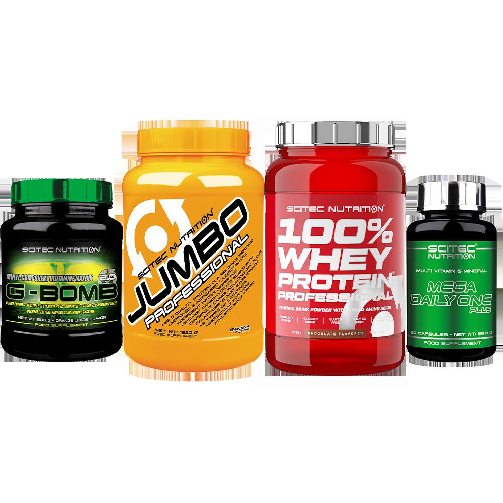 Scitec Nutrition Muscle Building Premium Stack