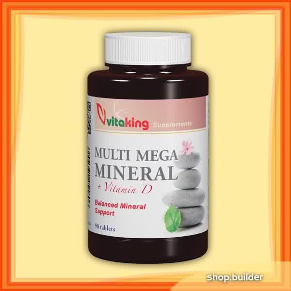 VitaKing Multi Mega Mineral 90 caps.