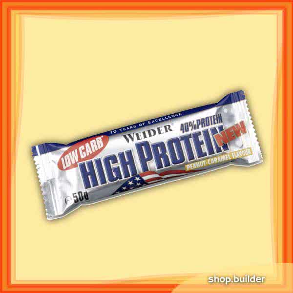 Weider Nutrition Low Carb High Protein Bar 50 gr.