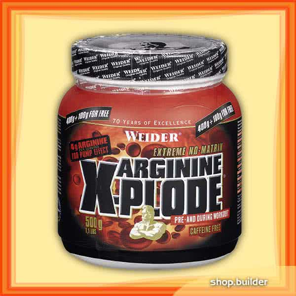 Weider Nutrition Arginine X-Plode 500 gr.