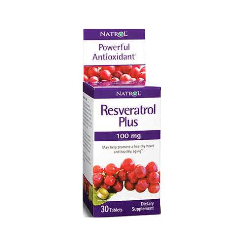 Natrol Resveratrol Plus 30 tab.