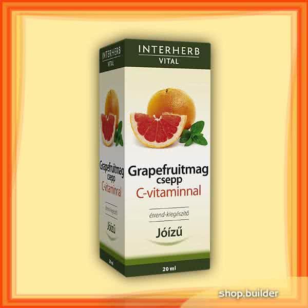 Interherb Grapefruit Vital + C-vitamin 20 ml.