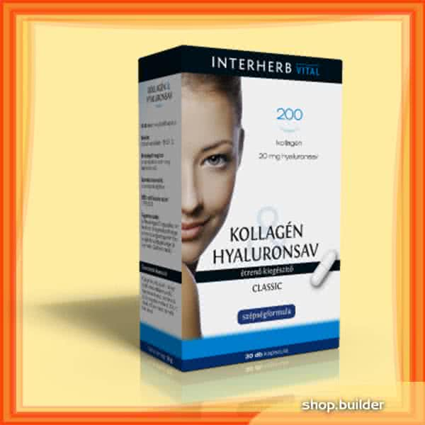 Interherb Collagen & Hyaluron Classic 30 tab.