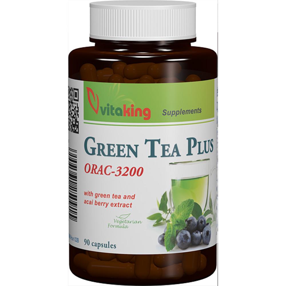 VitaKing Green Tea Plus 90 caps.