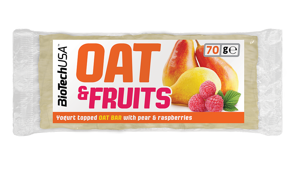 BioTech USA Oat & Fruits 70 gr.