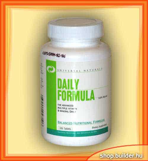 Universal Daily Formula 100 tab.