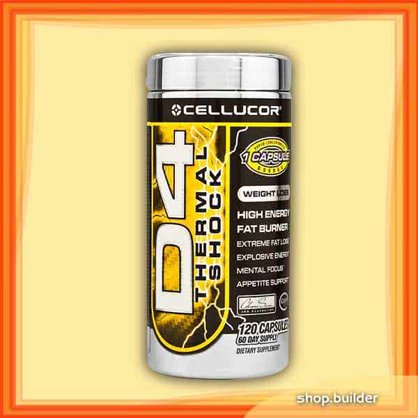 Cellucor D4 Thermal Shock 120 caps.