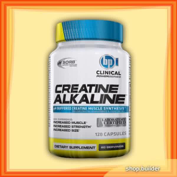 BPI Sports Creatine Alkaline 120 caps.