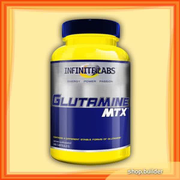 Infinite Labs Glutamine MTX Caps 240 caps.