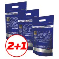 Scitec Nutrition 100% Whey Protein (3x1,85 kg) (5,55 kg)