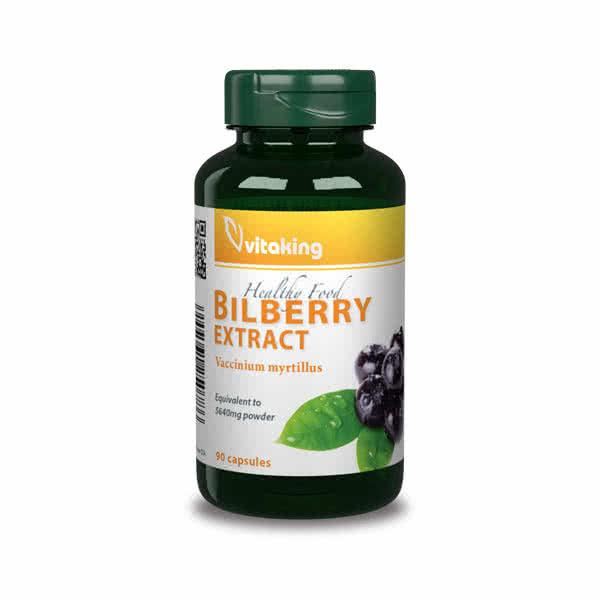 VitaKing Bilberry (Afin negru) 90 caps.
