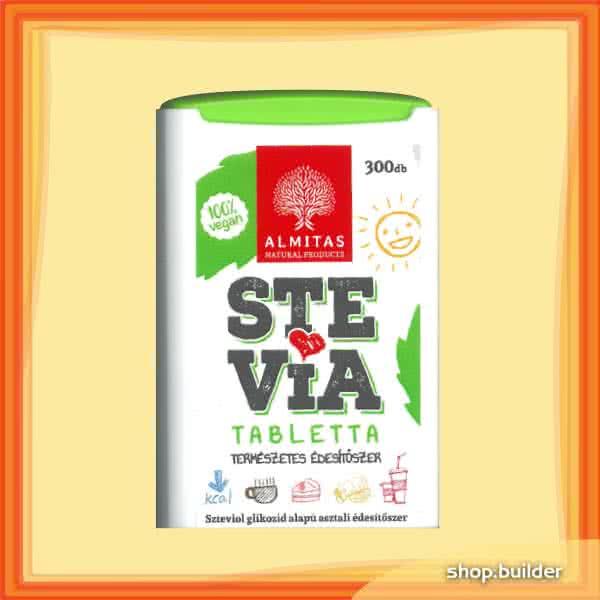 Almitas Stevia tablets 300 tab.