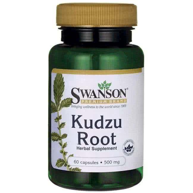 Swanson Kudzu Root (Rădăcina Kudzu) 60 caps.