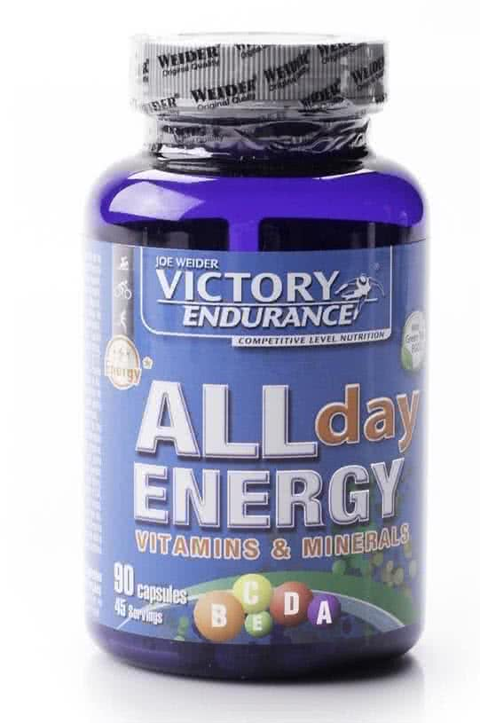 Weider Nutrition All Day Energy 90 caps.