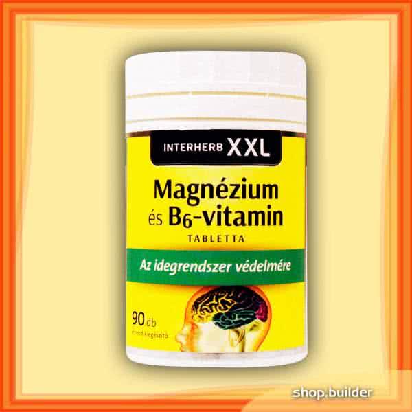 Interherb XXL Magnesium + Vitamin B6 90 caps.