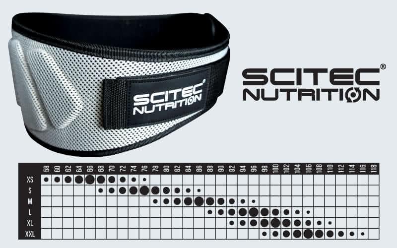 Scitec Nutrition Centură culturism (Extra Support)