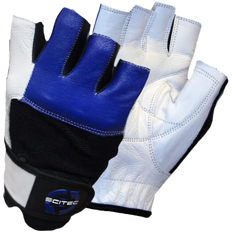 Scitec Nutrition Blue Style gloves pereche