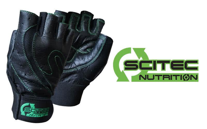 Scitec Nutrition Mănuși antrenament stil verde pereche
