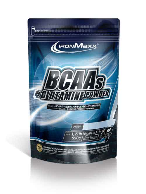 IronMaxx BCAAs + Glutamine Powder 550 gr.