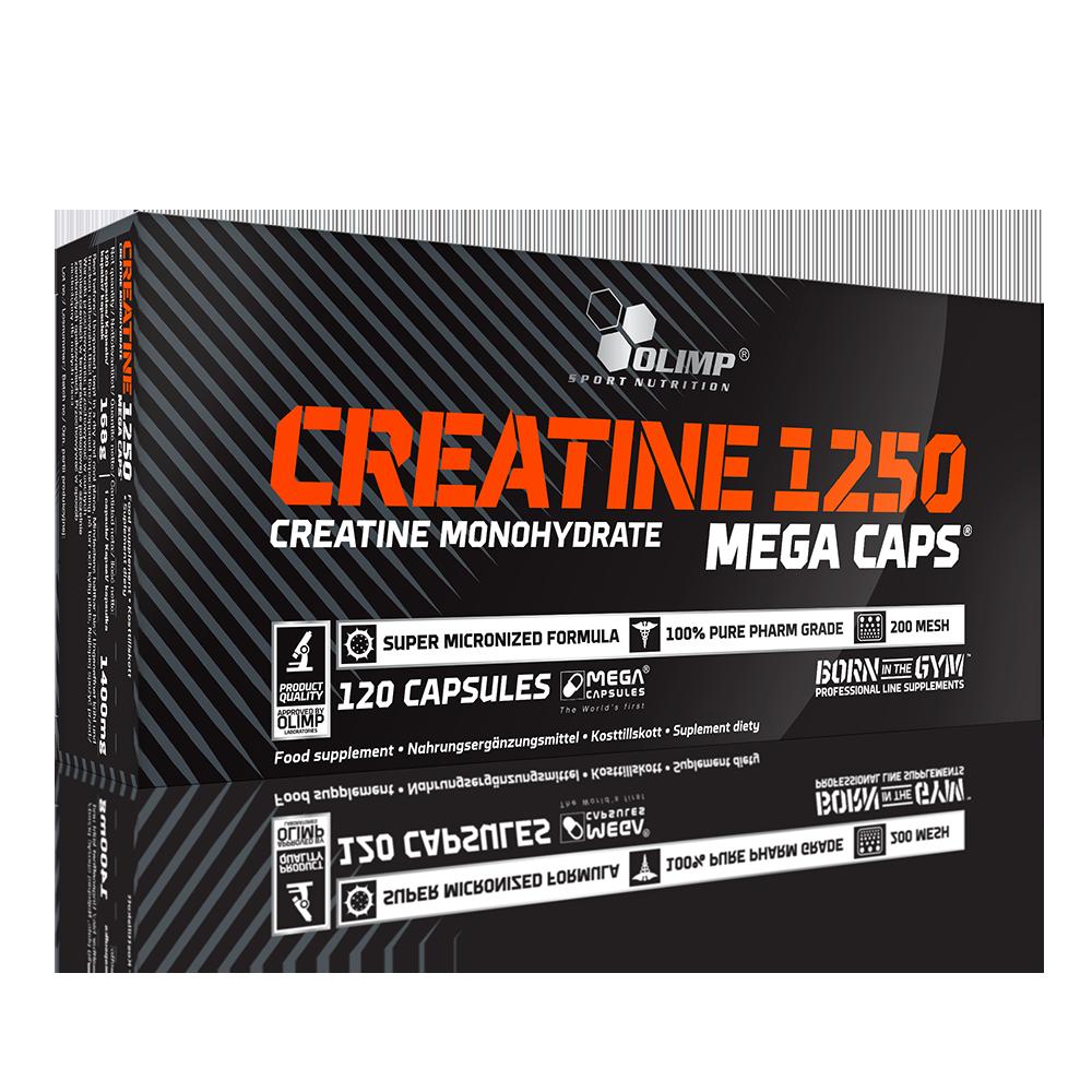 Olimp Sport Nutrition Creatine 1250 Mega Caps 120 caps.
