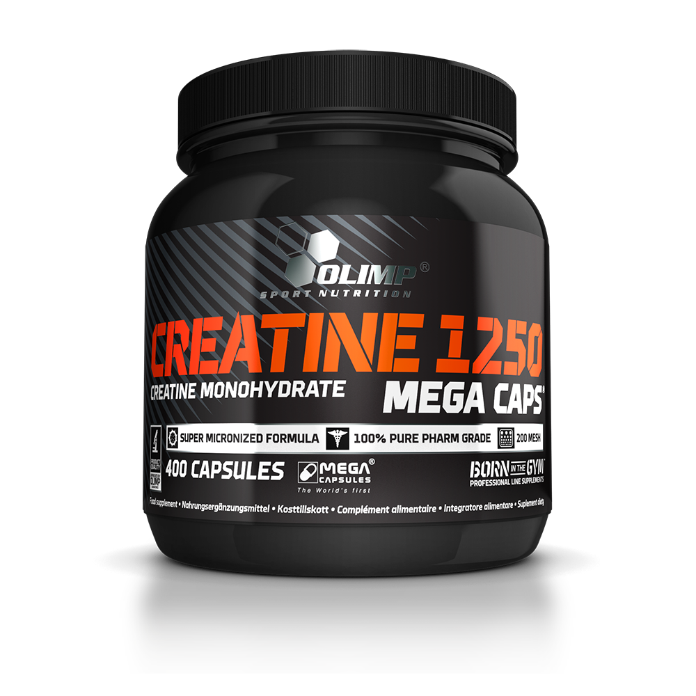 Olimp Sport Nutrition Creatine 1250 Mega Caps 400 caps.