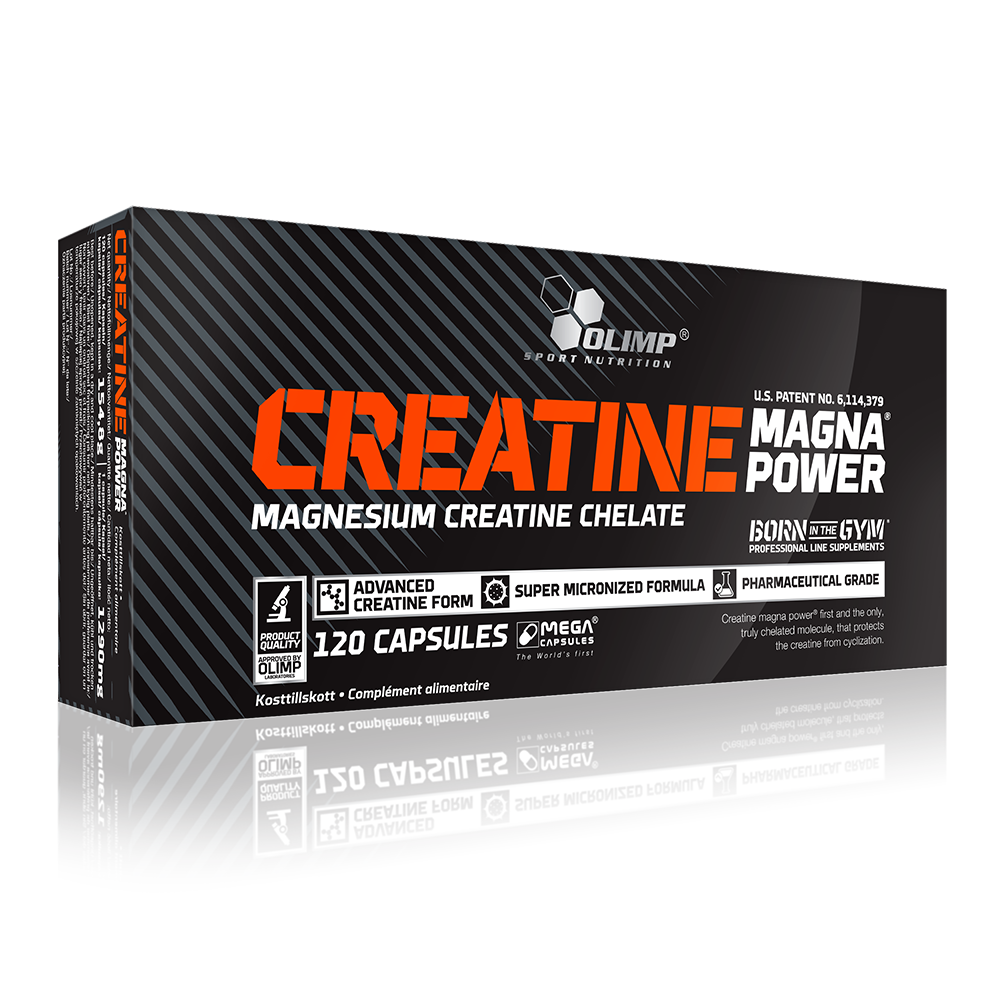 Olimp Sport Nutrition Creatine Magna Power 120 caps.