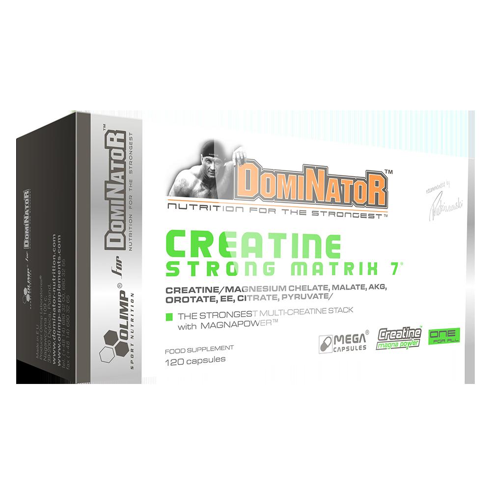 Olimp Sport Nutrition Dominator Creatine Strong Matrix 7 120 caps.