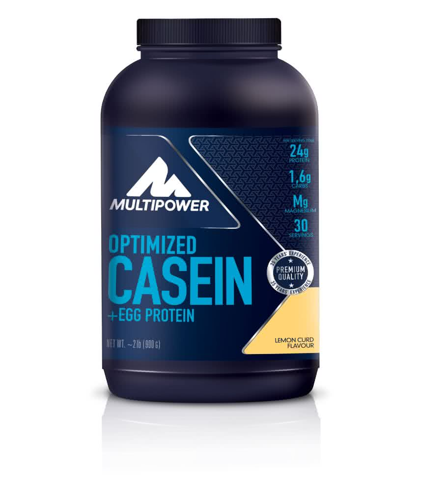 Multipower 100% Optimized Casein + Egg Protein 0,9 kg